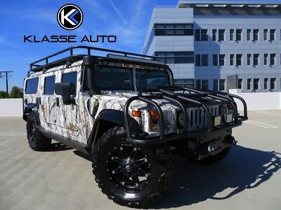 H1 Wagon Turbodiesel 2004 Hummer H1 Wagon Turbodiesel Only 29k Miles Tons of Upgrades Rare Must See