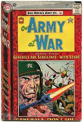 Our Army At War #148 1964-D.c. War Silver-Age-Sgt. Rock G/vg