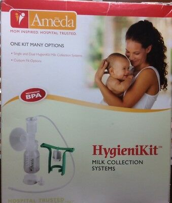 Dual Manual Breast Pump - Ameda HygieniKit