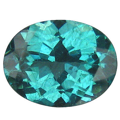1.57Ct ASTONISHING TOP FIRE ! 100% NATURAL SUPERB NEON BLUE APATITE GEM