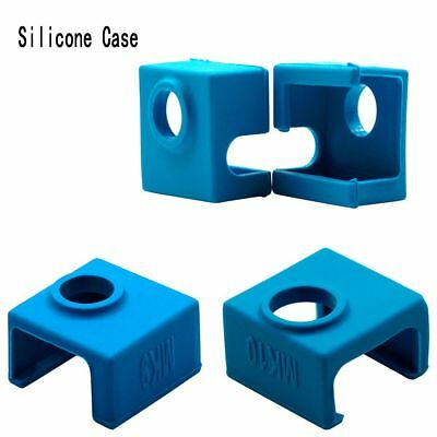 DIY Silicone Sock Cover For MK9/MK10 3D Printer Aluminum Heater Block Part