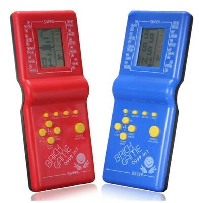 LCD Game Vintage Classic Tetris Brick Handheld Arcade Pocket Electronic Toy
