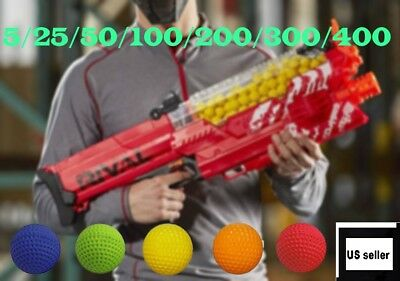 New Refill Balls Bullet Darts Blasters Nerf RIVAL Apollo Rounds Kids Toy Gun US