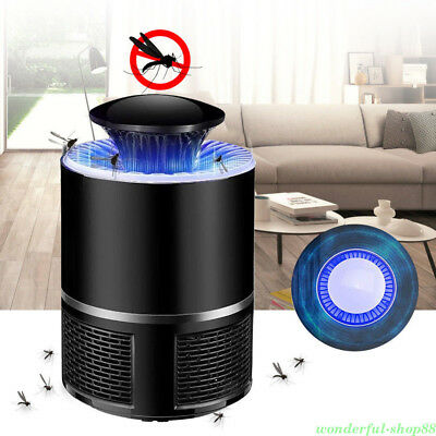 Electric Fly Bug Zapper Mosquito Insect Killer LED Light Lamp Pest Control Acces