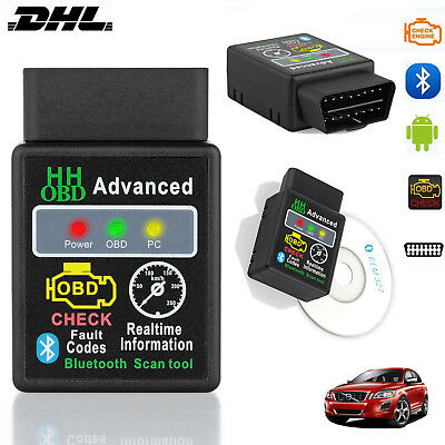 OBD2 ELM327 V2.1 Bluetooth Auto Scanner Adapter Android Auto Diagnose Scan-Tool