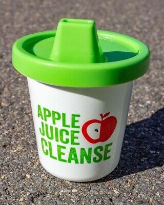 Gamago Apple Cleanse Sippy Cup Baby Toddler Cute Fun Cool Novelty Gift BPA Free