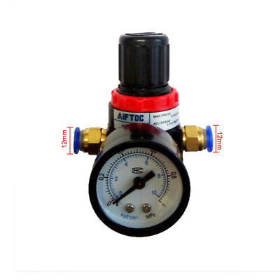 Air Control Compressor Pneumatic Filter Pressure Relief Regulator Valve Fitting