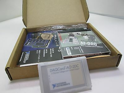 National Instruments 777093-01 DAQCard-A0-2DC Analog Output /Current Loop Card
