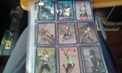 Precedence Tomb Raider CCG 209 Card Set Plus Promos 210 218 And Empty Boxes