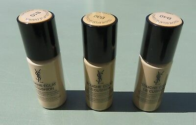 Ysl Touche Eclat Le Cushion Foundation 10Ml Size All The Shades £7.99 Free Post