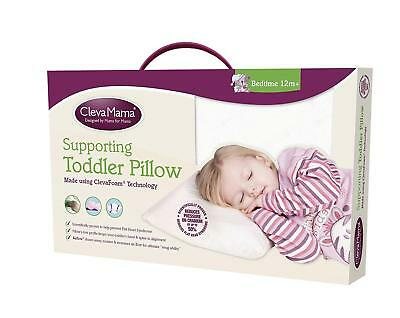 Clevamama Clevafoam Toddler Child Soft Pillow AirFlow Brand New in Box