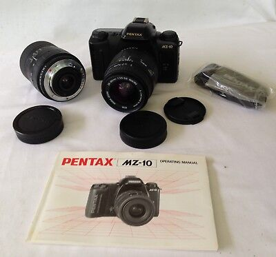 COLLECTABLE PENTAX MZ-10 35mm SLR CAMERA & ACCESSORIES