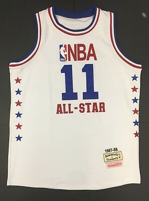 Isiah Thomas Mitchell   Ness 1987-88 All Star Jersey Hardwood Classics XXL fd17b169c