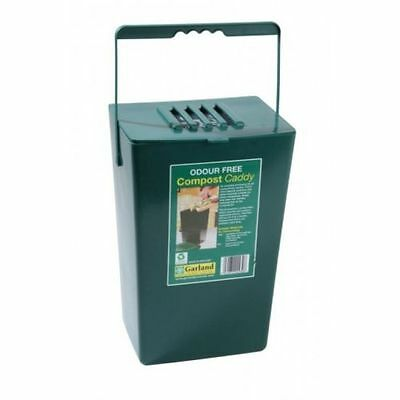 Garland Midi Odour Free Compost Caddy Green - Food scraps/leftovers 9 litre