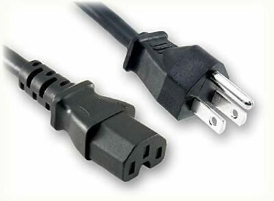 USED 6 feet 3 Prong AC Power Cord for Desktop PC TV Printer Monitors Fast Ship !