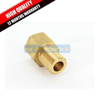 5/8-1/2 Inch Brass Female to Male Threaded Fitting Coupling Connector Joint