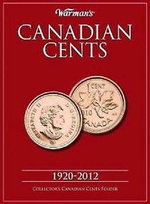 Canada 1920 to 2012 Small Cent Collection in Warman's Album Folder - 101 Coins