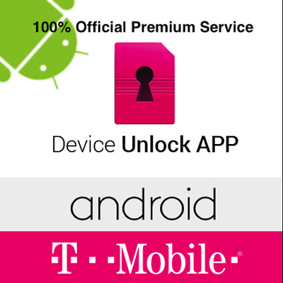 T-Mobile APP Unlock Official Service Samsung LG HTC-ALL Andriod Devices Support