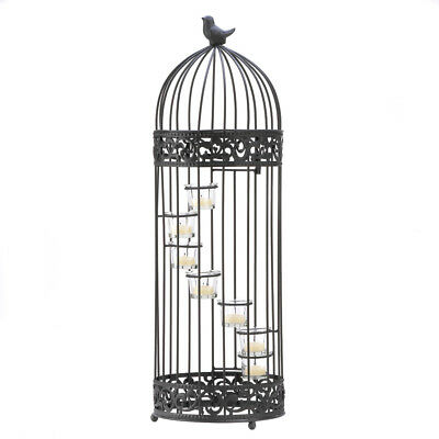 Gallery of Light - Birdcage Staircase Candle Stand