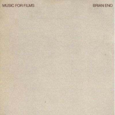 Brian Eno - Music For Films-Remaster 2005  Cd 18 Tracks Ambient Rock  New+