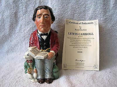 Royal Doulton - Rare - 1986 - Lewis Carroll - Limited Edition - Pitcher -46/1500
