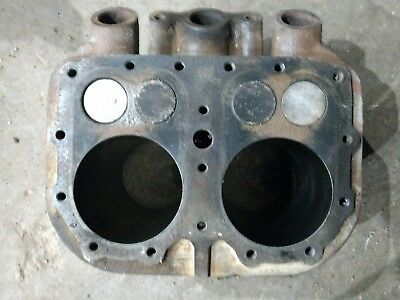 Wisconsin VH4D Engine Cylinder Block Jug with 030 Pistons AA98 bobcat 610 4 cyl