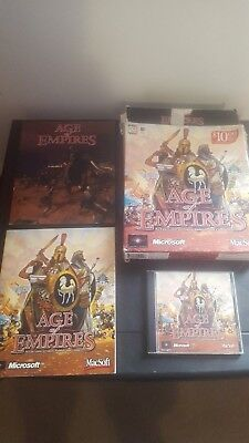 Age Of Empires 1 MAC CD - Boxed version with Manuals