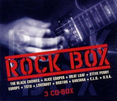 Rock Box (48 tracks, Sony) Santana, Meat Loaf, Boston, Ram Jam, Heart, .. [3 CD]