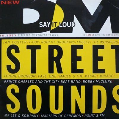 Street Sounds 87-1 Whispers, Prince Charles, Mirage, Freez, Tyrone Brun.. [2 LP]