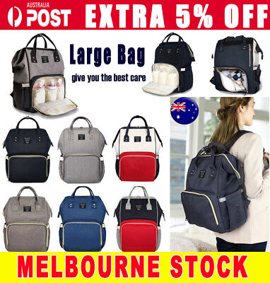 2019 Fashion Large Mummy Maternity Nappy Diaper Bag Baby Bag Travel Backpack