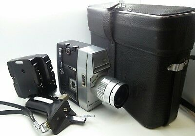 Bell Howell DUOLEX-S 16mm Movie Camera w/original case & film cartridge