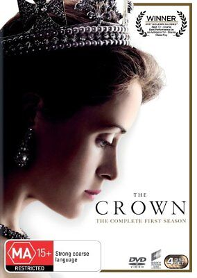 The Crown: Season One (4 DISC)-DVD-Brand New-Still Sealed