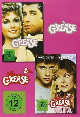 Grease Box (John Travolta, Olivia Newton-John,...) 2 Dvd New+