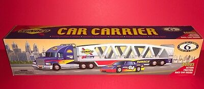 Sunoco 1999 Collector's Edition Car Carrier Sixth Of A Series New In Box