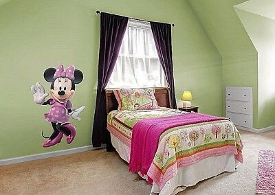 Minnie Mouse 3D Disney Vinyl Wall Art Removable Stickers Decals Kids Baby Decor