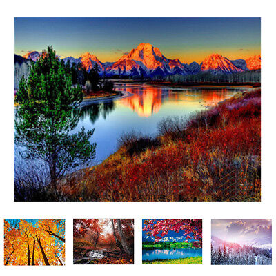 Scenery Oil Painting By Number DIY Handpainted Paint Home Office Decor Gift Myst