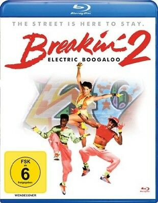 BREAKIN'2-ELECTRIC BOOGALOO Lucinda Dickey, Adolfo Quinones  BLU-RAY NEW+