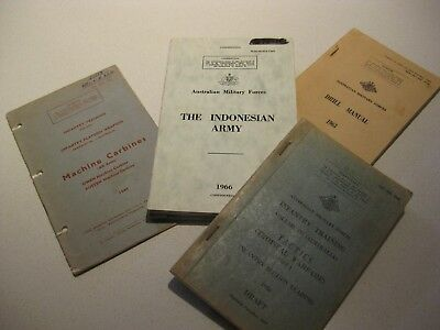 Australian Army Training Pamphlets Borneo Indonesian Confrontation Era Owen