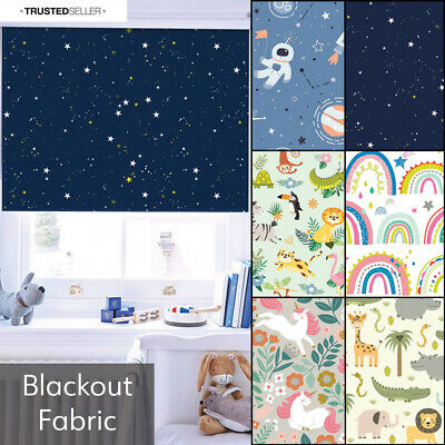 Childrens Roller Blinds Made To Measure Blackout Kids Blinds - Patterned Blinds