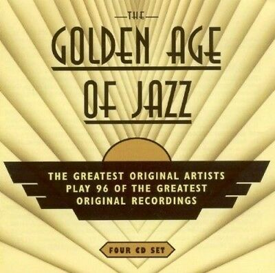 Golden Age Of Jazz - Louis Armstrong, Bob Crosby, Bobby Hackett 4 Cd New+