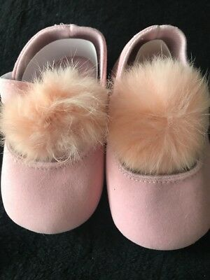 Chaussure Souple Bebe Fille Taille 9/12 Mois Neuf Emballé