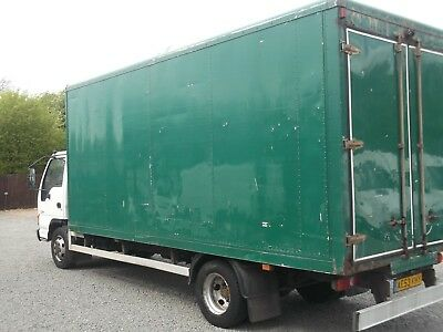 Storage Box body Container 18ft long barn opening back doors