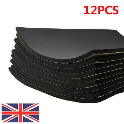UK 12 Sheets 10mm Closed Cell Foam Sound Proofing Deadening Car Van Insulation