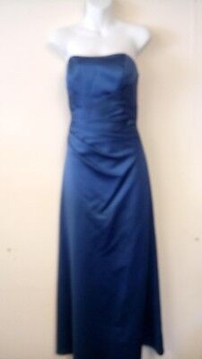 Alfred Angelo Ladies Dark Blue Bridesmaid dress (UK Size Age 11)