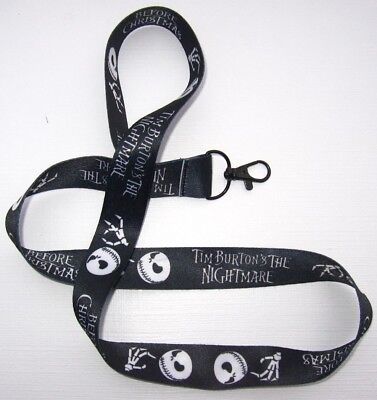 Tim Burton´s The Nightmare Before Christmas Schlüsselband Lanyard NEU (T188)