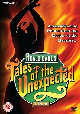 Tales Of The Unexpected  10 Disc Box Set    50 Episodes            Fast  Post