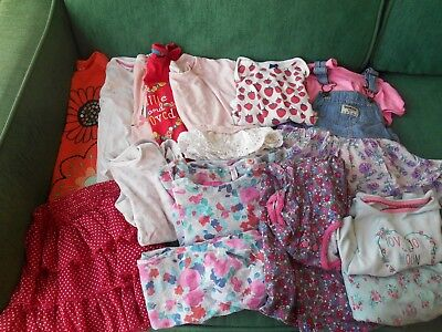 bundle of baby girls clothing, age 18-24 months