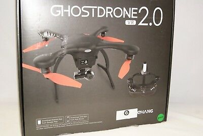 NEW - Ehang Ghost Drone VR 2.0 Drone Android Goggles - Black Orange Bad Battery