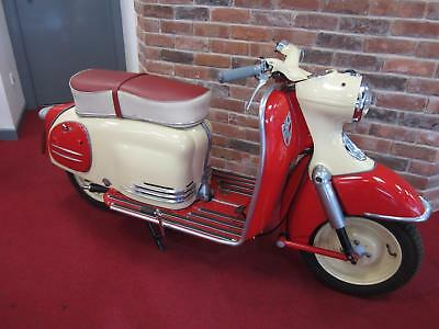 1961 Puch SR150 Alpine Red/Cream