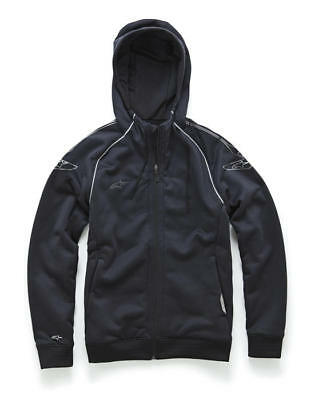Alpinestars Speedway Zip-Up Hoody Sweatshirt Black LG/Large